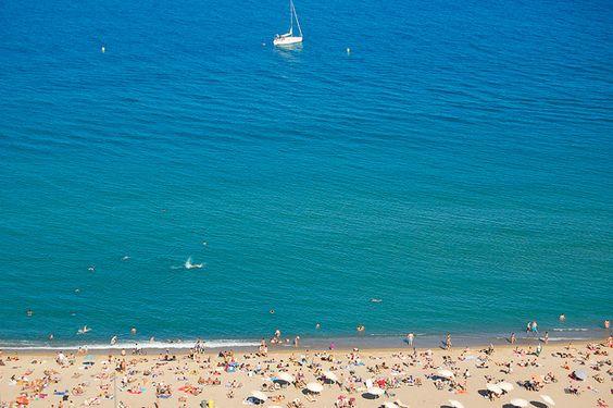 Beach of Barcelona