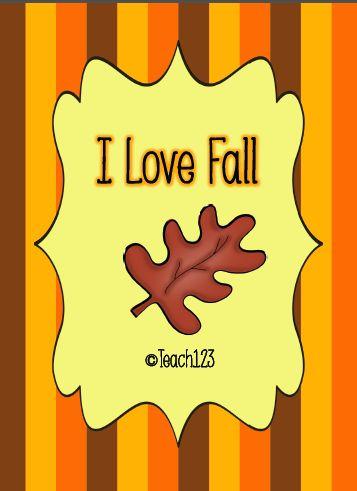 Teach123: Fall FREEBIE