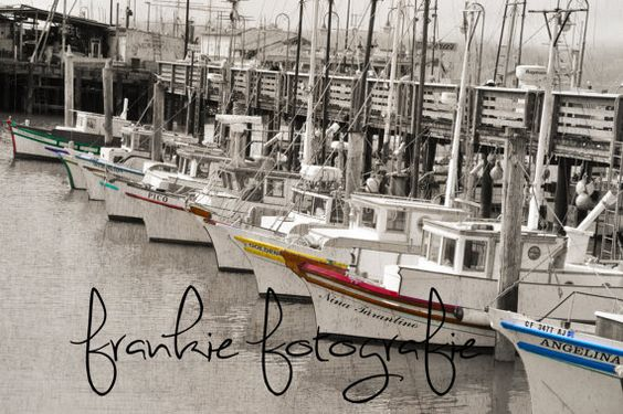 #SanFrancisco #Pier39 #Colourful #photography Old #Boats by FrankieFotografie, $10.00  #etsy