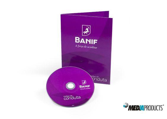 DVD produzido para o banco BANIF.