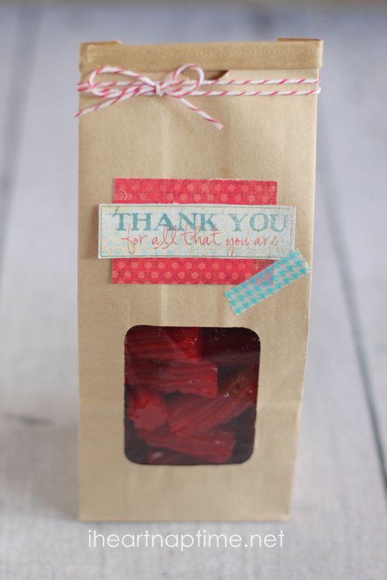 Easy thank you gift #craft