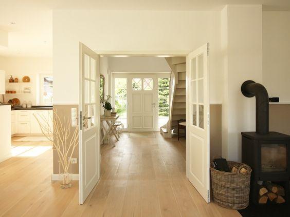Die besten 25+ Wohnzimmer mit offener Küche Ideen auf Pinterest - wohnzimmer farben landhausstil