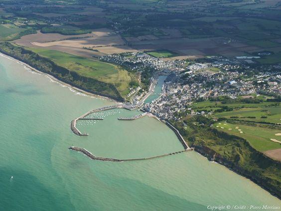 Photo aérienne de Port-en-Bessin - Calvados (14)