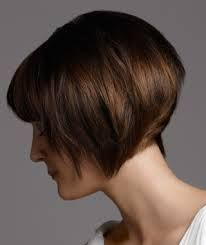 short angled brown bob haircuts - Google Search