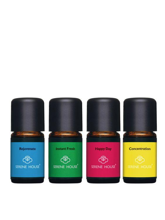 Essential Oil Blends (Set of 4)