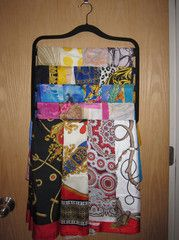 Great ideas on how to organize your countless Hijabs!