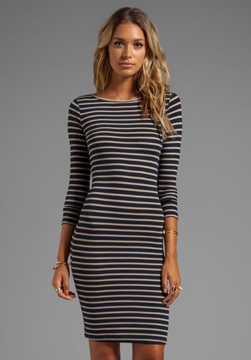 Long Sleeve Striped Dress | Sleeve, Long sleeve and Dress in