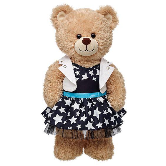 Honey Girls Teegan Star Dress | Build-A-Bear | Build a ...