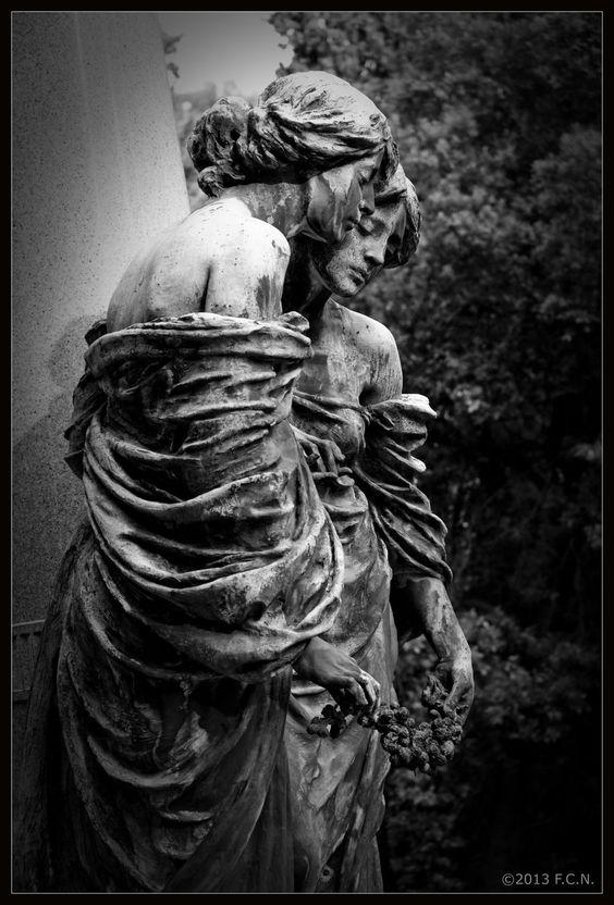 Staglieno Cemetery, Genoa.: