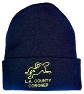 $12 L.A. County Coroner Beanie