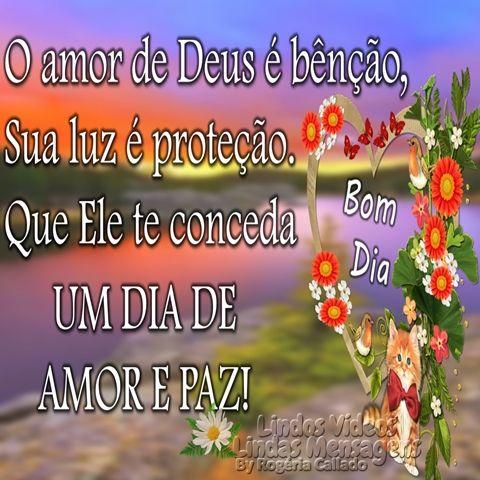 O Amor De Deus Amor De Deus Paz E Amor Amor