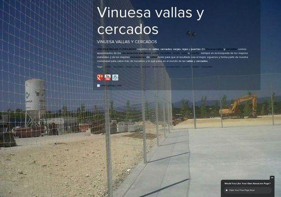 Vinuesa vallas y cercados' page on about.me – http://about.me/vinuesa.vallas