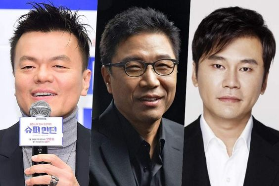 Park Jin Young's Stock Holdings Rise In Value As Lee Soo Man's And Yang Hyun Suk's Fall
