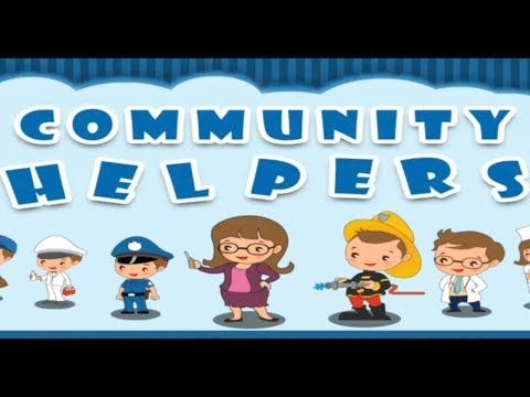 Community Helpers 40 Jobs Occupations For Preschools Educational For Kids Youtube Community Helpers Community Helpers For Kids Preschool Jobs