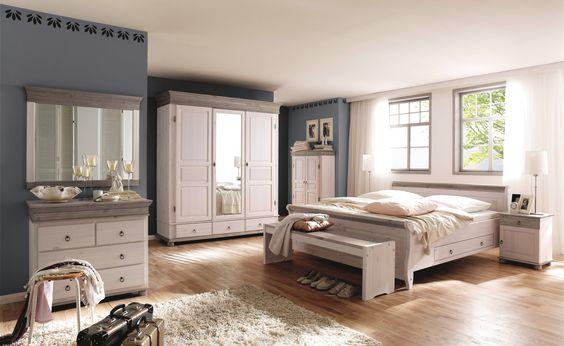 De 25+ bedste idéer inden for Schlafzimmer komplett massivholz på - schlafzimmer massiv komplett