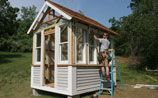 Build a Shed Video Series   Fine Homebuilding senior editor Justin Fink builds us a garden shed and demonstrates tips and techniques to help you design and build your own.: Garden Sheds, Gardening Videos, Backyard Sheds, Projects Gardens, Backyard Garden, Garden Backyard, Cabins Sheds Outdoor Rooms