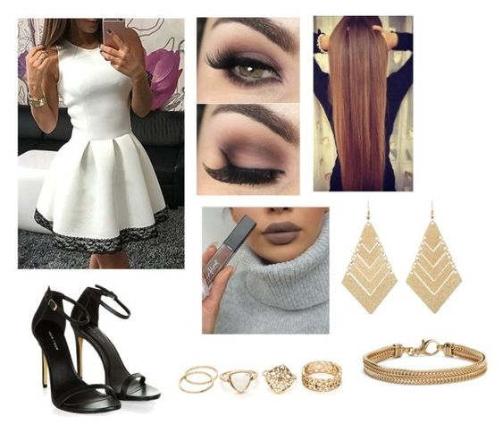 """""""Untitled #565"""" by ray-dany ❤ liked on Polyvore featuring Charlotte Russe and Blue Nile"""
