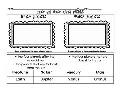 Space Worksheets | Have Fun Teaching
