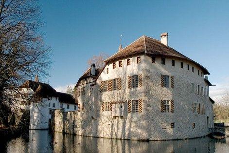 Seerose Resort & Spa liegt direkt am Hallwilersee und der Ausflugstipp: Schloss Hallwil - das besterhaltene Wasserschloss der Schweiz.