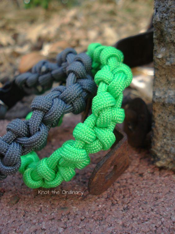 Knotted Paracord Bracelet
