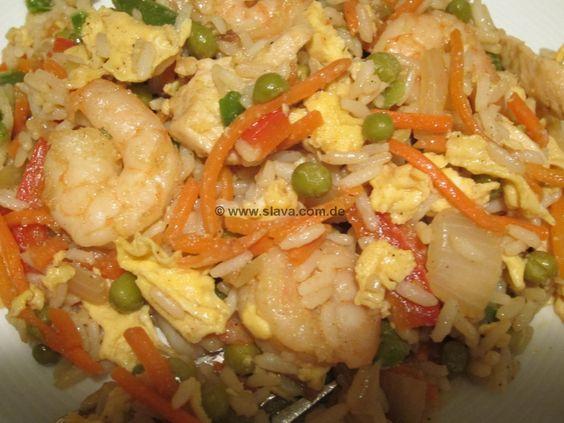 Chicken-Prawn-Fried Rice