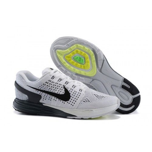 Sell Nike Lunarglide 7 White Black Men Running Shoes Nike Lunar - Men Nike Lunar (Hot Sell Nike Shoes Store - airshoesmall.com)