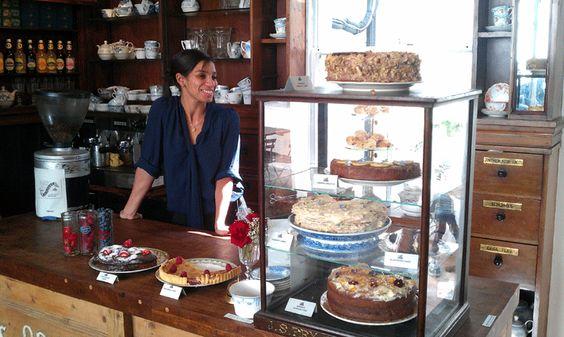 Congratulations Hannah! Your vintage tearoom dreams come true at last!