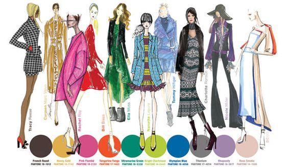 Pantone Fall 2012 Color Report