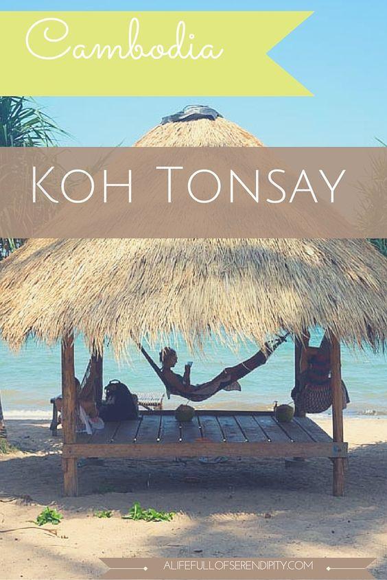 Koh Tonsay hay còn gọi là đảo Thỏ