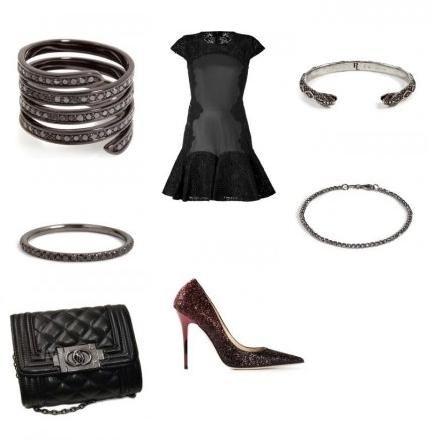 Para sair da rotina e arrasar!!!! Esse look combina com o batom Diva. #moda #look #ingriffe