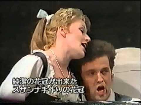 Mozart The Marriage Of Figaro Japan 1991 German Harry Kupfer Figaro German Harry Hochzeit Japan Kupfer Marriage Mozart Kupfer