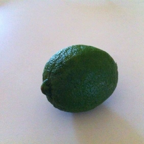 Do you know the nutritional value of a lime?  How about the weight loss potential?  Google it-you will be pleasantly surprised!