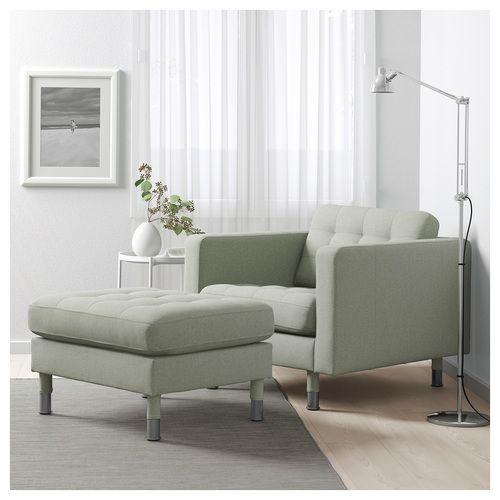 Ikea Landskrona Skemill Gunnared Ljosgraent Malmur Green Furniture Living Room Living Room Green Landskrona