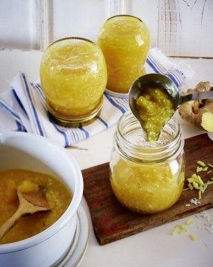 Das Rezept für Ananas-Kokos-Konfitüre mit Ingwer und weitere kostenlose Rezepte auf LECKER.de