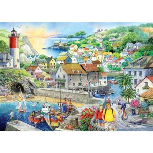 A huge range of jigsaws, jigsaw puzzles