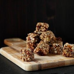 Chewy Ginger Granola Bites