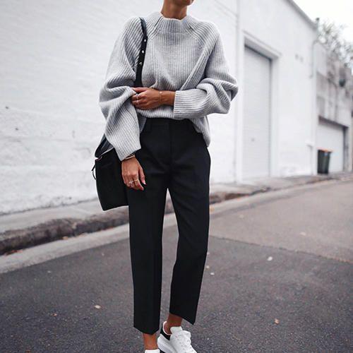 10 Ways To Wear Your Comfiest Oversized Sweaters | Fashion