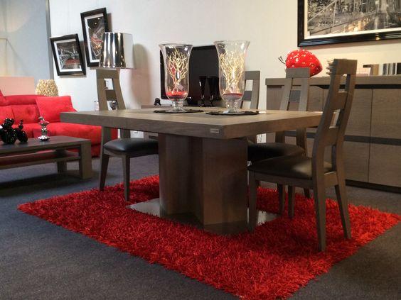 terra table pied central et c ramique sign ernest m nard france meubles ernest. Black Bedroom Furniture Sets. Home Design Ideas