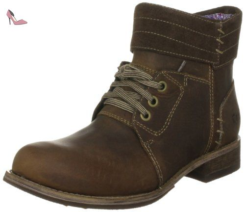 Caterpillar Cat Footwear Pru, Bottes femmeMarron-TR-SW.152, 37 EU