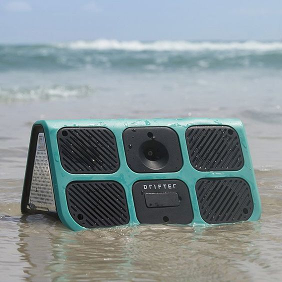 This waterproof speaker lets you take your tunes anywhere while leaving your phone safely stowed at home.