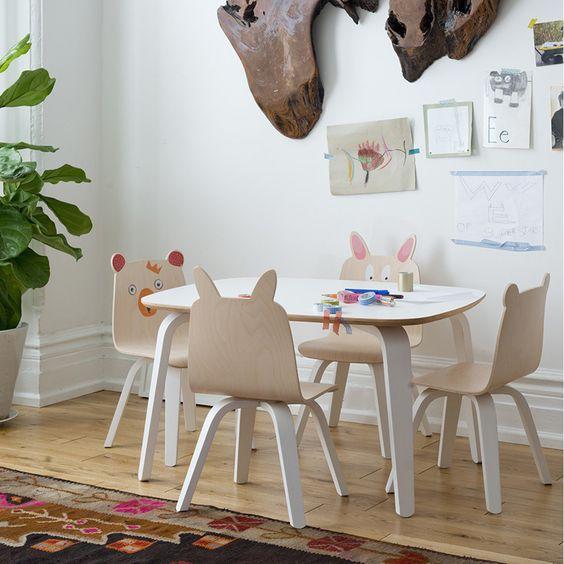 Petite table pour enfants Play #oeufnyc #silverakids