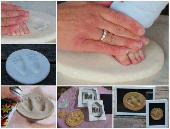 Ideas para guardar los recuerdos de tu recién nacido