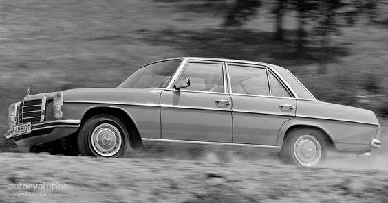 "MERCEDES BENZ E-Klasse ""Strich-Acht"" (W114/115) - 1968, 1969, 1970 ..."