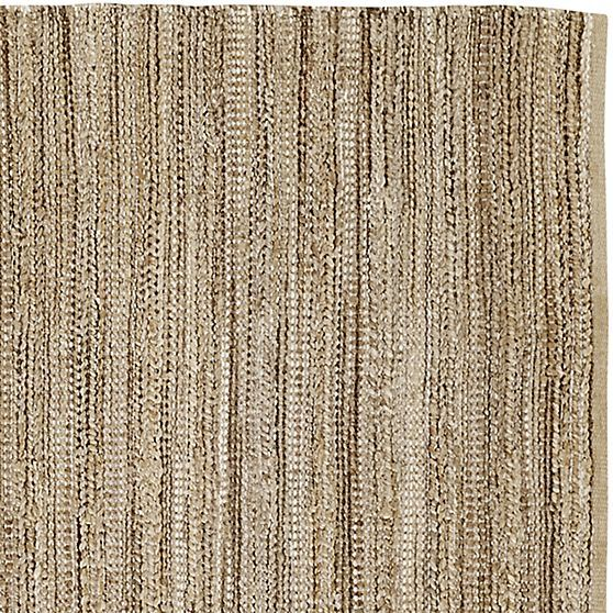 Jarvis Grey Jute-Blend Rug  | Crate and Barrel