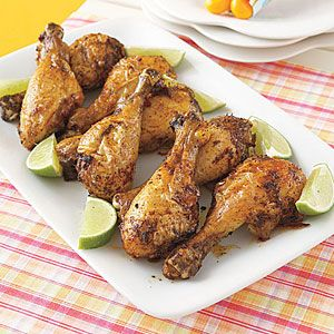 Chili-Lime Drumsticks | Recipe | Drumstick Recipes, Chicken Drumsticks ...