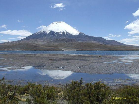 Lago Chungará Chile