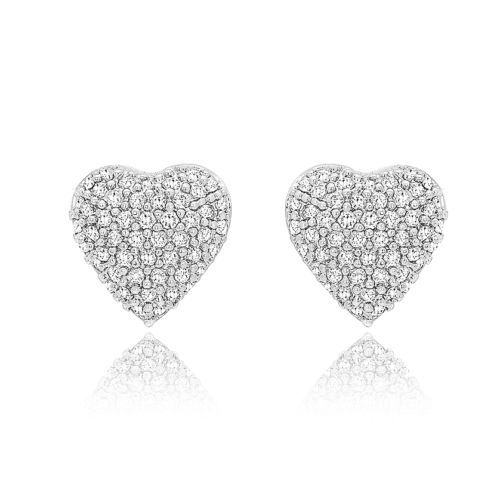 Samie-Collection-Heart-Pave-Set-1-1-CT-CZ-Silver-Stud-Wedding-Bridal-Earrings