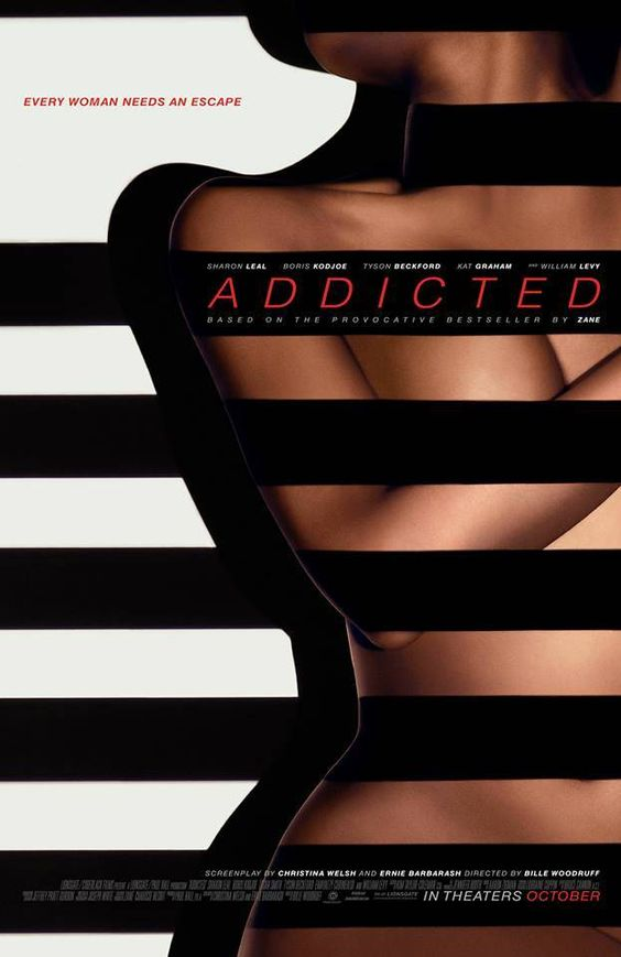 Can't wait for this! Official Poster For Zane's Movie Addicted.