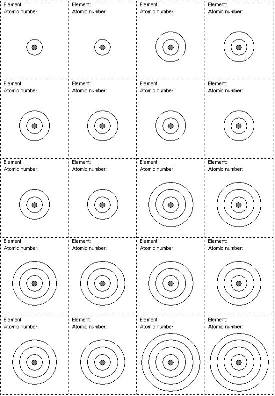 Printables Bohr Model Worksheet electron shell worksheet diagram projects to diagram