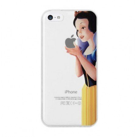 Coque etui housse pour iphone 5c blanche neige manger for Housse iphone 5c